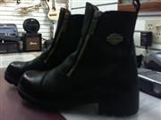 HARLEY DAVIDSON Woman's Leather Ankle Shoes/Boots Size 6.5